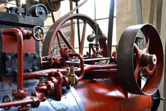 A steam engine Stock Image