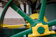 Steam engine detail Stock Image