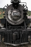 Steam engine, Durango and Silverton Narrow Gauge Railroad, Silverton, Colorado, USA Stock Photo