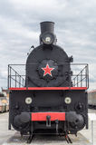 The steam engine exhibit history Museum, Ekaterinburg, Russia,. Verkhnyaya Pyshma Royalty Free Stock Photo
