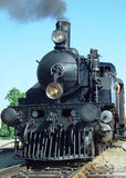 Steam engine front Stock Photos
