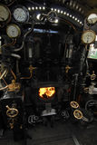 Steam Engine Furnace Royalty Free Stock Images