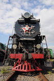 Steam engine locomotive Stock Image