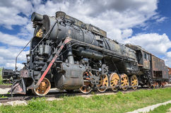Steam engine locomotive cl L originally O, produced in 4199 units by Kolomna 1945-1955 stock images