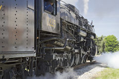 Steam engine locomotive Royalty Free Stock Photo