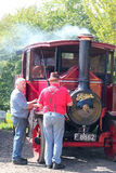 Steam engine lorry. Royalty Free Stock Image