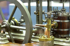 Steam engine model Royalty Free Stock Image