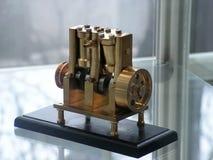 Steam engine model Stock Photo