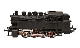 Steam Engine Model w/ Path (Side View) Stock Photos