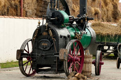 Steam engine from 1930 Royalty Free Stock Image