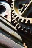 Steam engine parts Stock Photography