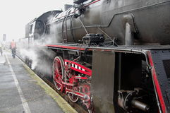 Steam engine. Stock Photo