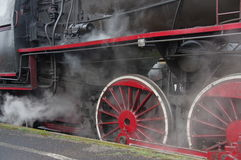 Steam engine. Royalty Free Stock Images