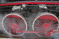 Steam engine. Royalty Free Stock Photography