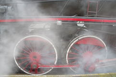 Steam engine. Royalty Free Stock Photo