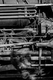 Steam Engine Pipes Royalty Free Stock Photo