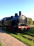 Steam engine (Poland) Royalty Free Stock Image