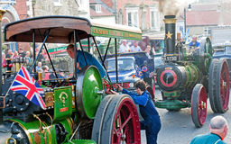 Steam Engine Rally . Stock Image