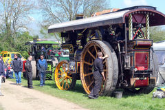 Steam engine rally Royalty Free Stock Images