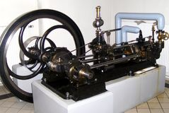 Steam engine in the Technical Museum in Munchen (Technische Muzeum Munchen) Stock Photo