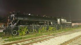 Steam Engine Train Night Scene