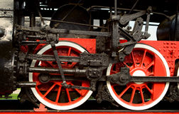 Free Steam Engine Wheels Royalty Free Stock Photo - 17546565