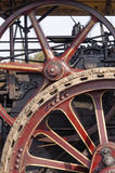Steam engine wheels Stock Images