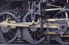 Steam Engine Wheels Royalty Free Stock Image