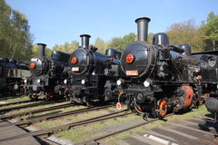 Steam-engines Royalty Free Stock Photos