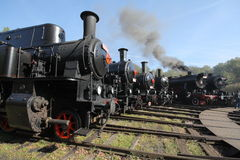 Steam-engines Stock Photo