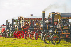 Steam Engines And Lorries ! Royalty Free Stock Photo