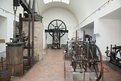 Steam engines German Museum Munich Royalty Free Stock Image