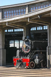 Steam engines. Old steam engines in the railway industry in Temuco Chile royalty free stock images