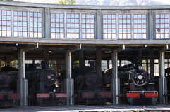 Steam engines Stock Image