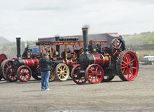 Steam Engines at Shanes Castle May Day Steam Rally Estate Antrim Northern Ireland. Steam Engines at Shanes Castle May Day Steam Rally Estate Antrim in Northern royalty free stock images