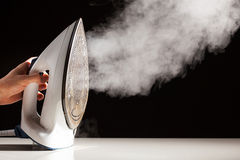 Steam generator iron Stock Photo