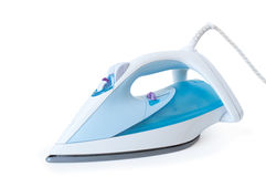 Steam iron. Isolated on white background Stock Images