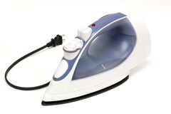 Steam iron Royalty Free Stock Image