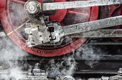 Steam and iron Royalty Free Stock Image