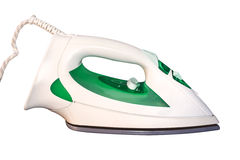 Steam iron isolated on white Stock Images
