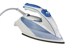 Steam Iron isolated. On white background Royalty Free Stock Photography