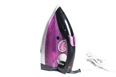 Steam iron isolated on white background Royalty Free Stock Photography