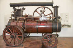 Steam Locomobile  Royalty Free Stock Photo