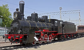 Steam locomotive 1 Royalty Free Stock Images