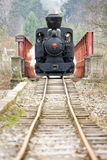 Steam locomotive. At Ciernohronska Railway, Slovakia Stock Images