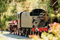 Steam locomotive. Parking of steam locomotives in Turkey Royalty Free Stock Photo