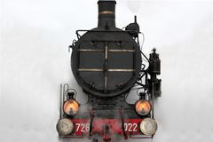 Steam locomotive Royalty Free Stock Photos