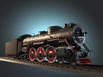 Steam locomotive Stock Photos