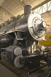 Steam locomotive 2. The front of an old Steam locomotive Stock Photo