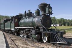 Steam Locomotive. A steam locomotive Royalty Free Stock Image
